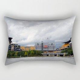 Pittsburgh Tour Series - Heinz Field Rectangular Pillow