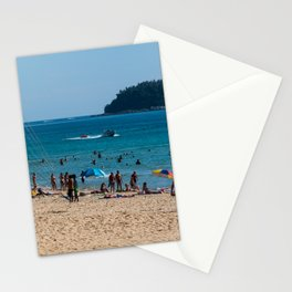 Karon Beach, Phuket, Thailand Stationery Cards