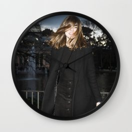 Transition from Summer to Winter Wall Clock