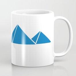 Egyptian Pyramids & Camel Silhouette Coffee Mug