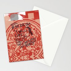 BUS STOP PIZZA Stationery Cards