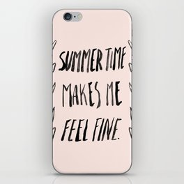 Summer Time iPhone Skin