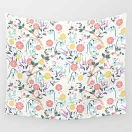 Morning Snowdrop Wall Tapestry