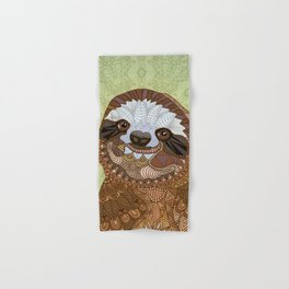 Smiling Sloth Hand & Bath Towel