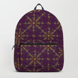 spiderweb pattern Backpack