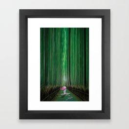 Arashiyama, Kyoto Japan Framed Art Print