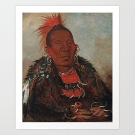 The Surrounder, Chief of the Tribe Art Print