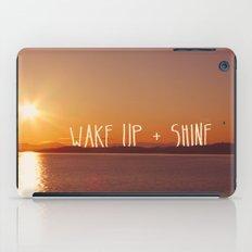wake up + shine! iPad Case