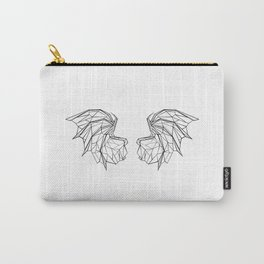 Polygonal Dragon Wings Carry-All Pouch