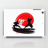 ninja iPad Cases featuring Ninja by Emir Simsek