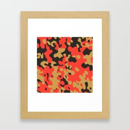 CAMO05 Framed Art Print