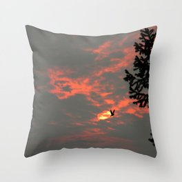 Never more the Raven.... Throw Pillow