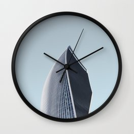 LND CLR X-8 London Colour Architecture Art Wall Clock