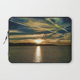THE SUNDOWN SEA Laptop Sleeve
