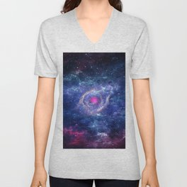 Eye in the Universe Unisex V-Neck