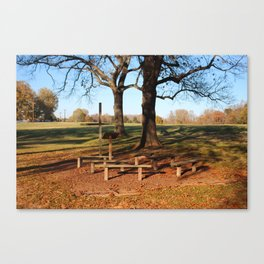 Country Worship Canvas Print