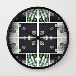 Interspace - Plant Cells Wall Clock