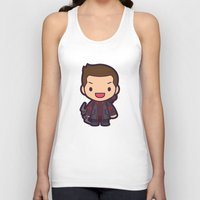 archer Tank Tops featuring Archer by Papyroo
