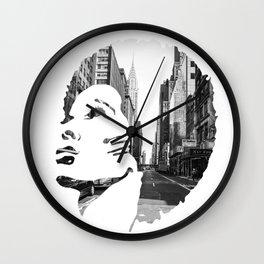 Surimpression Wall Clock