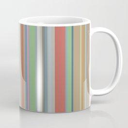 Geometric No. 27 earth stripes Coffee Mug