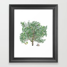 BB&PPINC Tree Print Framed Art Print