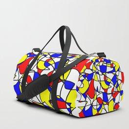 Mondrian Sneeze Duffle Bag