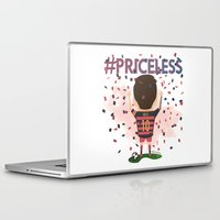 messi Laptop & iPad Skins featuring Messi Priceless by Doctor Keros