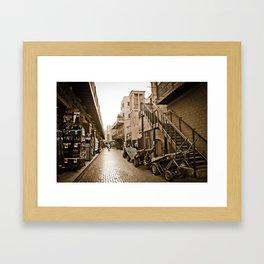 bur dubai dreams Framed Art Print
