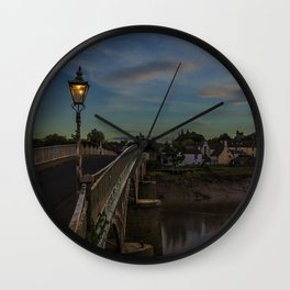 Bridge Over The Wye Chepstow Wall Clock