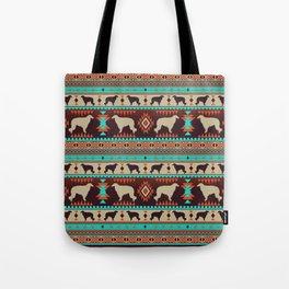 Boho dogs | Borzoi / Russian wolfhound sunset Tote Bag
