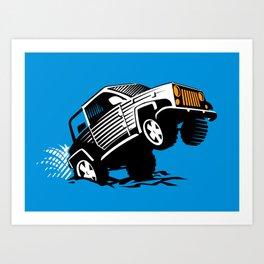 4x4 trophy Art Print