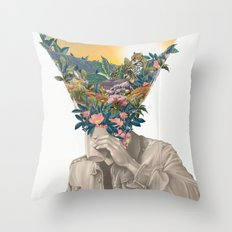Recapture Throw Pillow