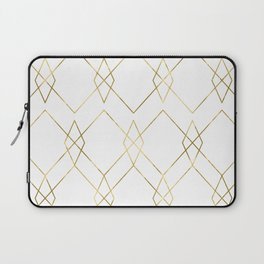 Gold Geometric Laptop Sleeve