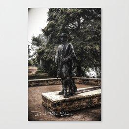 Stevie Ray Vaughan Statue - Austin,Texas Canvas Print