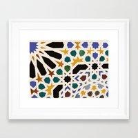 escher Framed Art Prints featuring Escher Inspiration by Nancy Smith
