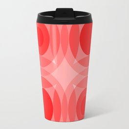 Red Interference Travel Mug