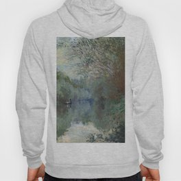"Claude Monet ""Saules au bord de Lyerres (Willows on the edge of Lyerres)"" Hoody"