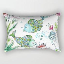 2 fishes Rectangular Pillow