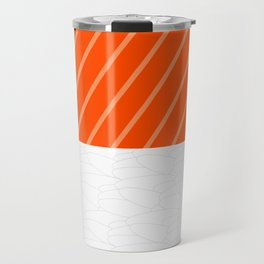 Simple Salmon Sushi Travel Mug
