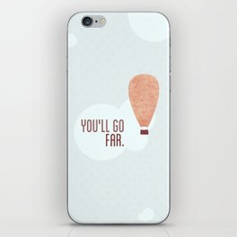 Without a doubt in my mind ♡ iPhone Skin