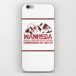 Wanheda iPhone Skin