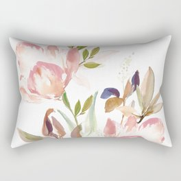 Darling Blooms Rectangular Pillow