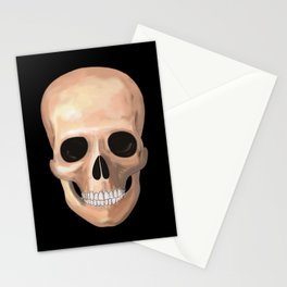Smiling Skull Stationery Cards