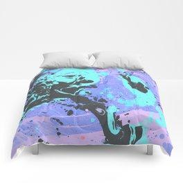 Marble texture 19 Comforters