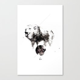 Leo - Lions Roar Canvas Print