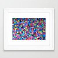 tetris Framed Art Prints featuring Tetris by fieltrovitz
