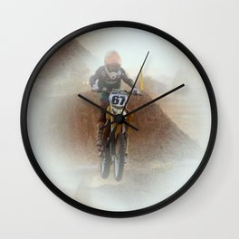 """"""" In The Lead """" Wall Clock"""