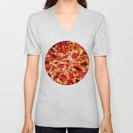 Pizza Painting Unisex V-Neck