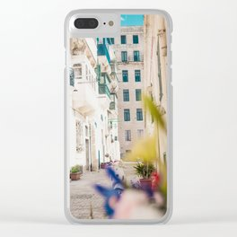 Narrow Europe Streets Clear iPhone Case