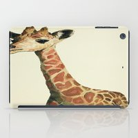 nordic iPad Cases featuring Nordic Giraffe by alyssajeandreamer